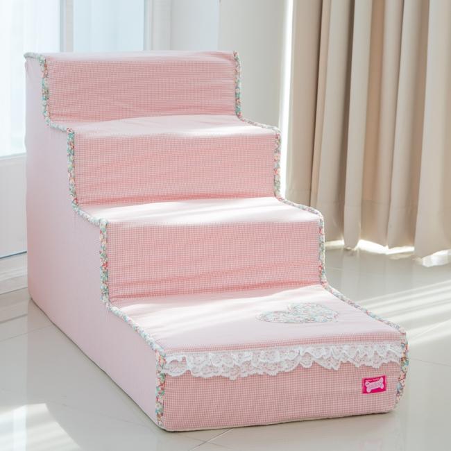 플로랄 4단계단(핑크)