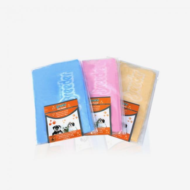 브리더 펫타월 보급형(3color)