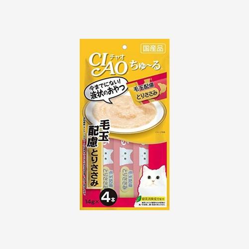 이나바 챠오츄르 파우치 닭가슴살+게 (56g)