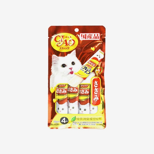 이나바 챠오츄르 스틱 닭가슴살(60g)