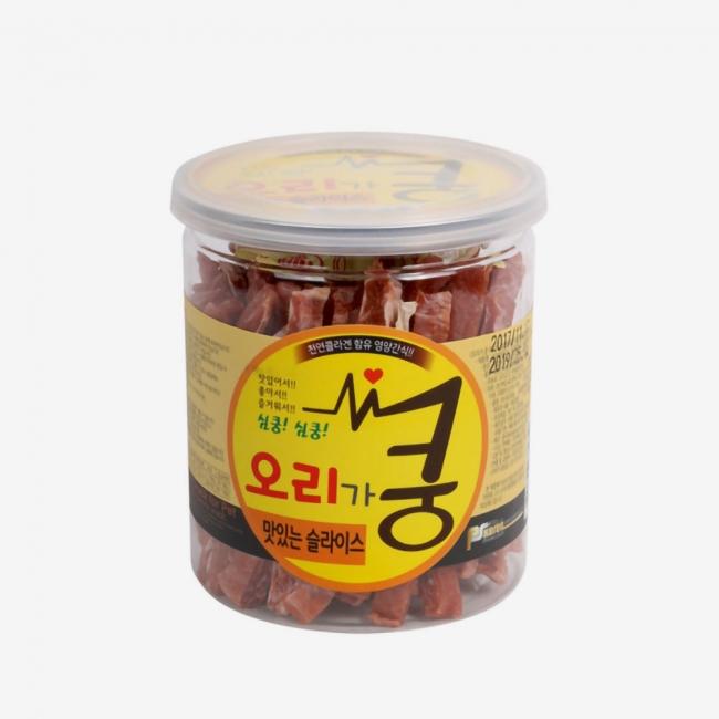 오리가 쿵 맛있는 슬라이스(200g)