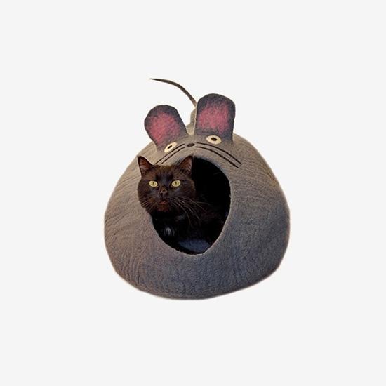 다르마독 카르마캣 생쥐모양 하우스(Gray)