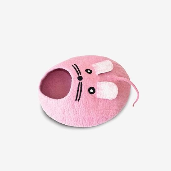 다르마독 카르마캣 생쥐모양 하우스(Pink)