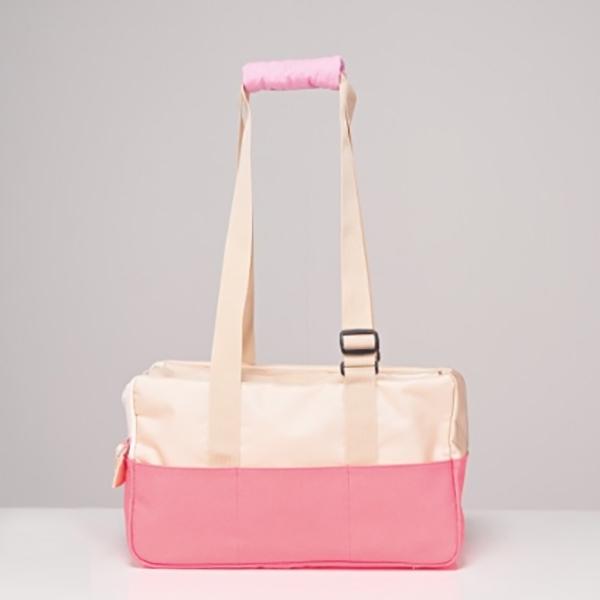 베베네코 카롱백 이동가방 핑크